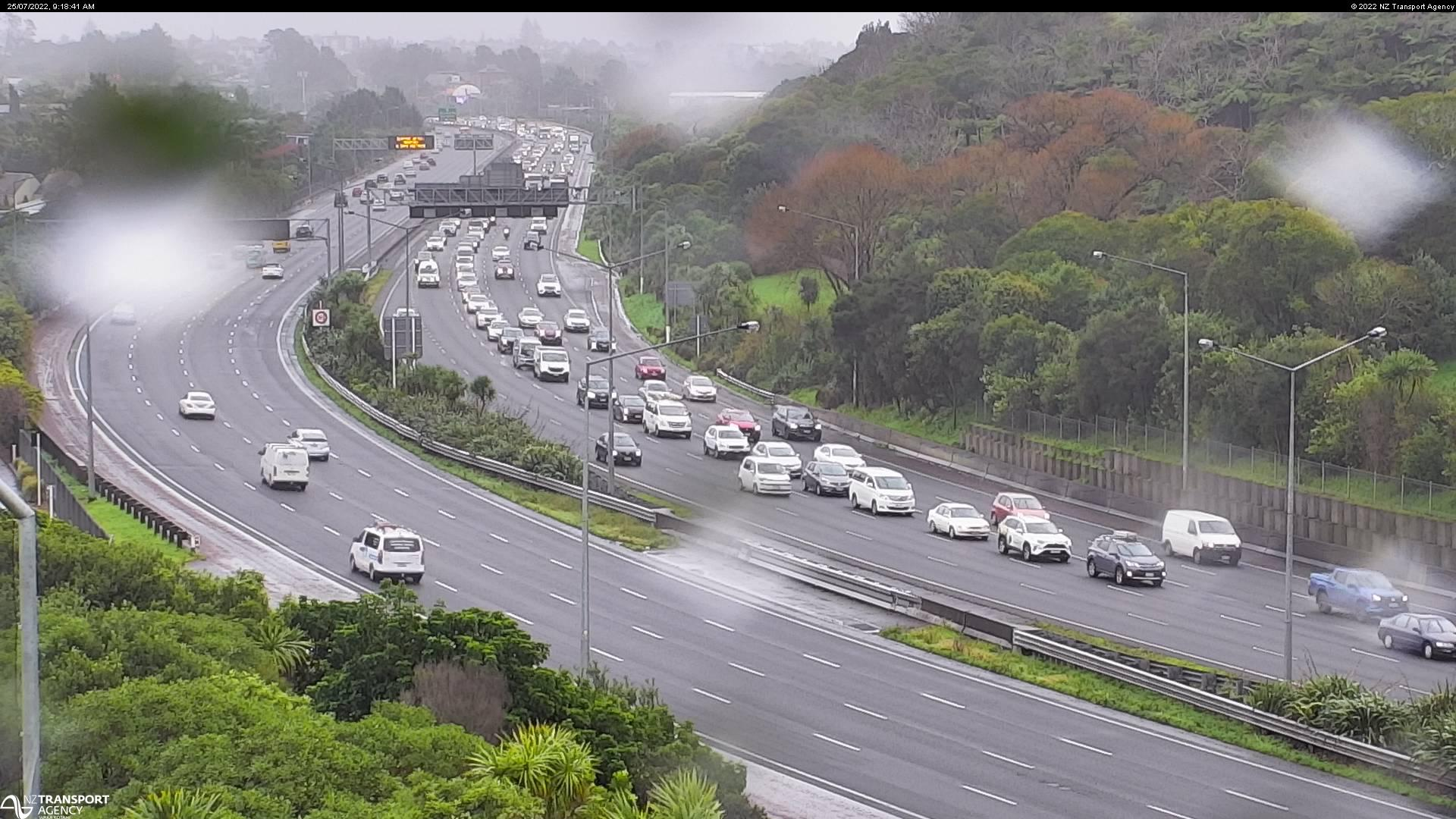 Auckland Traffic Cameras and Auckland Motorway Traffic Information