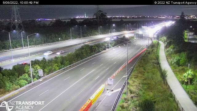 Auckland Traffic Cameras And Auckland Motorway Traffic